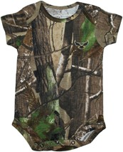 Kennesaw State Owls Realtree Camo Newborn Infant Bodysuit