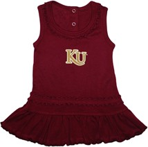 Kutztown Golden Bears Ruffled Tank Top Dress