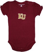 Kutztown Golden Bears Puff Sleeve Bodysuit