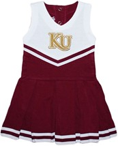 Kutztown Golden Bears Cheerleader Bodysuit Dress
