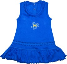 McNeese State Cowboys Ruffled Tank Top Dress