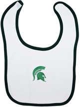 Michigan State Spartans Newborn Bib