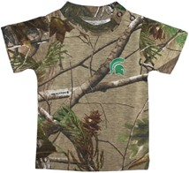 Michigan State Spartans Realtree Camo Short Sleeve T-Shirt