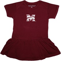 Morehouse Maroon Tigers Picot Bodysuit Dress