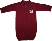Morehouse Maroon Tigers Newborn Gown