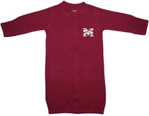 "Morehouse Maroon Tigers ""Convertible"" Gown (Snaps into Romper)"