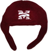 Morehouse Maroon Tigers Chin Strap Beanie