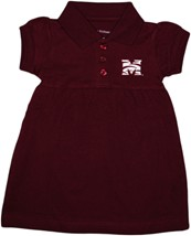 Morehouse Maroon Tigers Polo Dress w/Bloomer