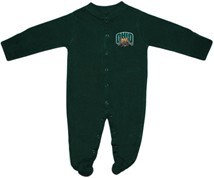Ohio Bobcats Footed Romper