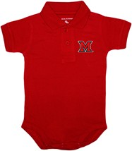 Miami University RedHawks Polo Bodysuit