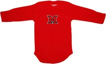 Miami University RedHawks Long Sleeve Bodysuit
