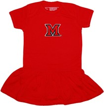 Miami University RedHawks Picot Bodysuit Dress