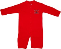 "Miami University RedHawks ""Convertible"" Gown (Snaps into Romper)"