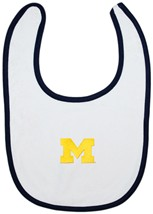 Michigan Wolverines Block M Newborn Bib