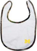 Michigan Wolverines Block M Realtree Camo Newborn Bib