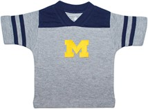 Michigan Wolverines Block M Football Shirt
