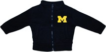 Michigan Wolverines Block M Polar Fleece Zipper Jacket