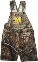 "Michigan Wolverines Outlined Block ""M"" Realtree Camo Long Leg Overall"