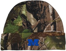 Millikin Big Blue Newborn Realtree Camo Knit Cap