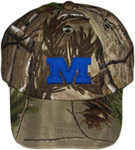 Millikin Big Blue Realtree Camo Baseball Cap