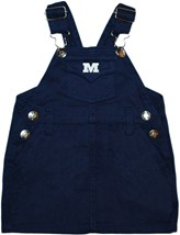 Millikin Big Blue Jumper Dress