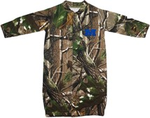 "Millikin Big Blue Realtree Camo ""Convertible"" Gown (Snaps into Romper)"