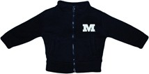Millikin Big Blue Polar Fleece Zipper Jacket