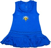Morehead State Eagles Ruffled Tank Top Dress