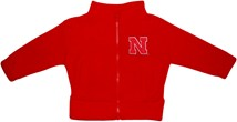 Nebraska Cornhuskers Block N Polar Fleece Zipper Jacket