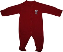Alabama Big Al Footed Romper