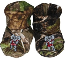 Alabama Big Al Realtree Camo Baby Bootie