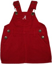 "Alabama Crimson Tide Script ""A"" Jumper Dress"