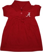 "Alabama Crimson Tide Script ""A"" Polo Dress"