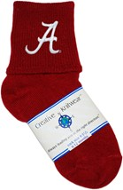 "Alabama Crimson Tide Script ""A"" Anklet Socks"