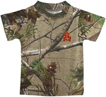 Arizona State Interlocking AS Realtree Camo Short Sleeve T-Shirt
