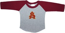 Arizona State Interlocking AS Baseball Shirt