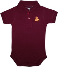 Arizona State Interlocking AS Polo Bodysuit