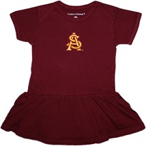 Arizona State Interlocking AS Picot Bodysuit Dress