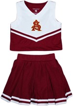 Official Arizona State Interlocking AS 2-Piece Cheerleader Dress