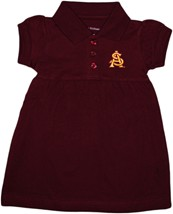Arizona State Interlocking AS Polo Dress