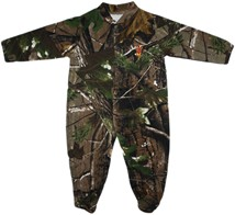 Arizona State Sun Devils Realtree Camo Footed Romper