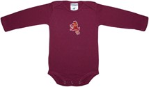 Arizona State Sun Devils Sparky Long Sleeve Bodysuit