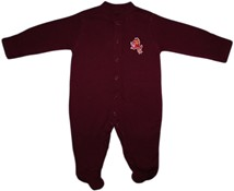 Arizona State Sun Devils Sparky Footed Romper