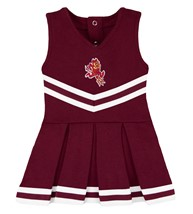 Arizona State Sun Devils Sparky Cheerleader Bodysuit Dress