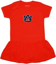 "Auburn Tigers ""AU"" Picot Bodysuit Dress"