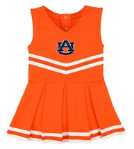 "Auburn Tigers ""AU"" Cheerleader Bodysuit Dress"