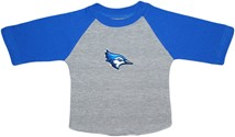 Creighton Bluejay Head Baseball Shirt