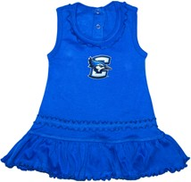 Creighton Bluejays Ruffled Tank Top Dress
