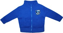 Creighton Bluejays Polar Fleece Zipper Jacket