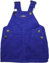 LSU Tigers Script Jumper Dress
